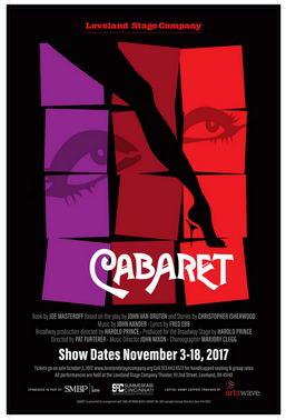 Cabaret tickets on sale OCtober 3!